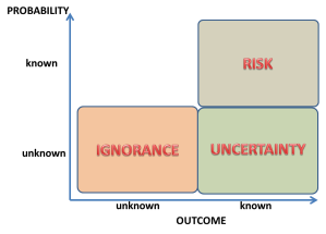 Risk Ignorance and Uncertainty
